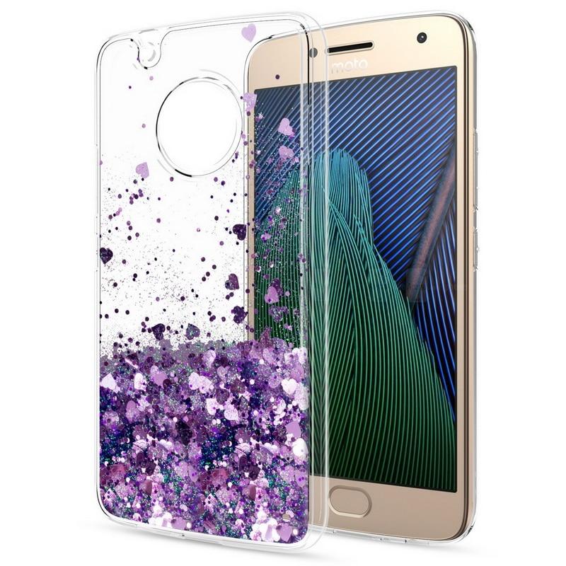 Fashion Glitter Liquid Quicksand Case For Motorola  1