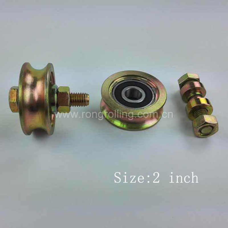 2 Inch Diameter 48mm Sliding Gate Roller Pulley Wheels