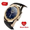 Ronda reloj s01smart mtk2502c con tarjeta sim marcación mensaje push smartwach del ritmo cardíaco para el iphone samsung htc huawei smartwatch