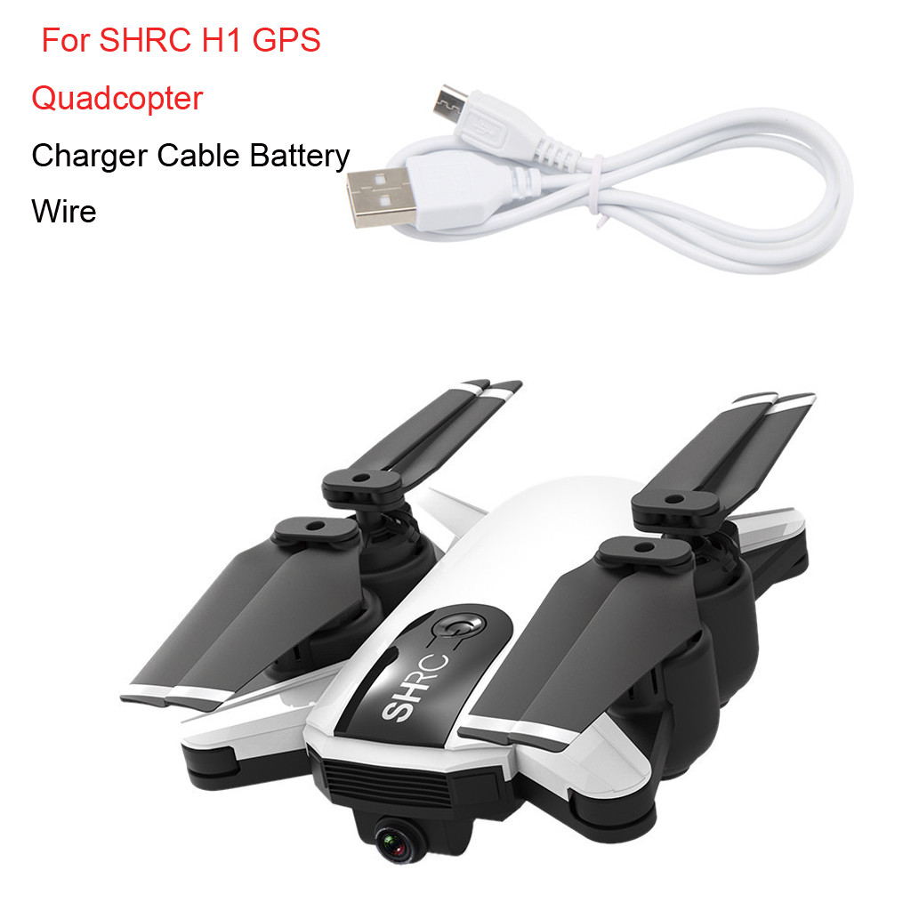 Suitable Charging 3.7V USB Charger Cable Battery Wire For  SHRC H1 GPS RC Quadcopter convenient and practical accessories-in Parts & Accessories from Toys & Hobbies