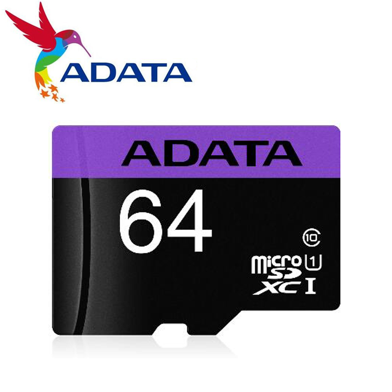 ADATA Memory Card 16GB/32GB/64GB Flash Card Memory Microsd TF/SD Cards For Smartphone/Tablet