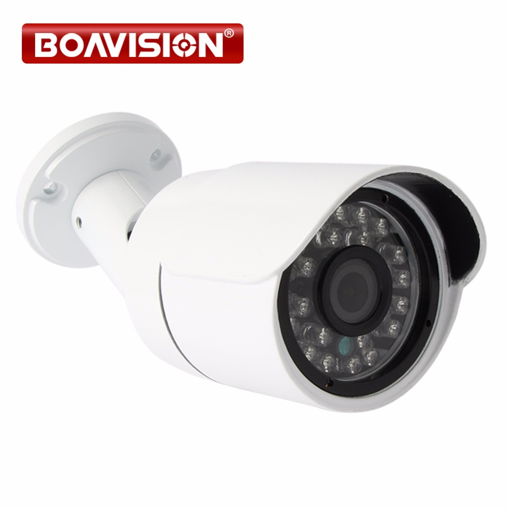 2MP 1080P Bullet POE IP Camera Outdoor Night Vision Waterproof 6mm Lens Network Security CCTV Camera IP P2P Cloud Plug & Play wistino cctv camera metal housing outdoor use waterproof bullet casing for ip camera hot sale white color cover case