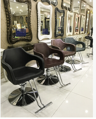 Special Hair Salon Hair Salon Chair. Fashion Haircut Beauty-care Stool Hydraulic Rotating Chair Lift