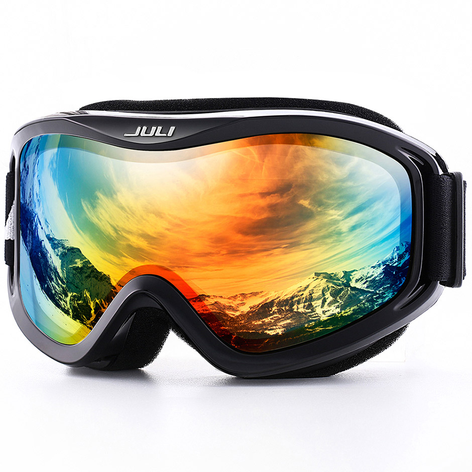 Snow Goggles,Winter Snow Sports Snowboard Over Glasses Goggles With Anti-fog UV Protection Double Lens For Men Women Mask Goggle