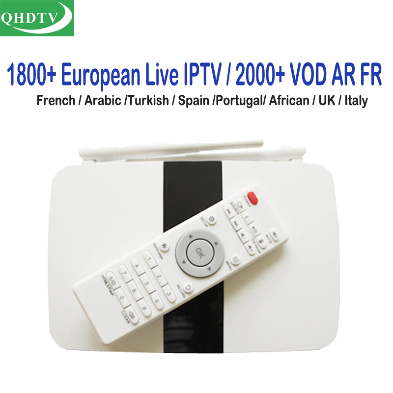 Dalletektv France IPTV Box 1 Year Subscription Europe French Italian Channels Android Arabic IP TV Boxes