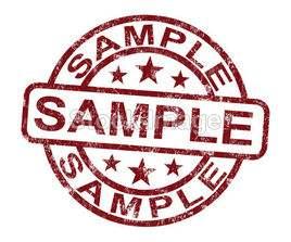 Sample product 210mm*297mm 75%cotton 25%linen pulp paper