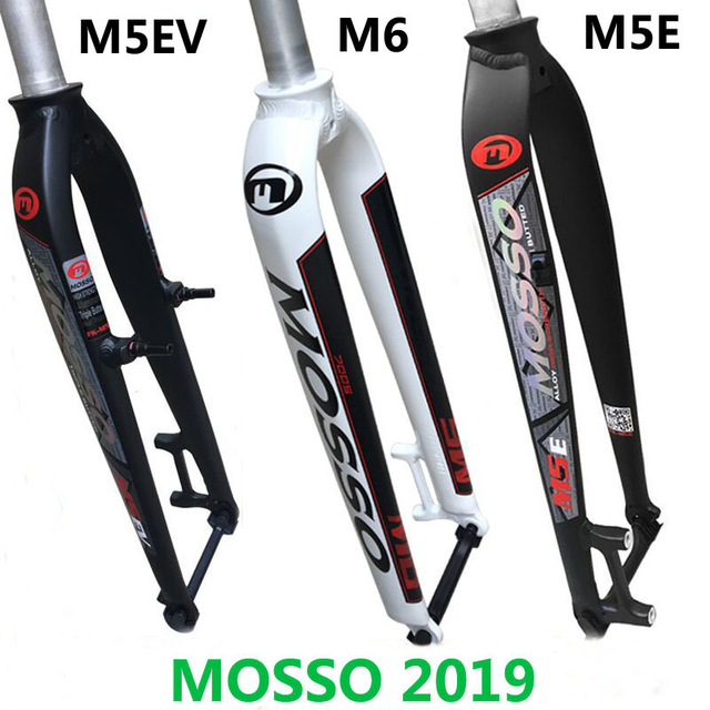 """2019 New model Mosso M5 MD5 M5E M5EV M6 MTB Mountain bike fork for v+disc brake 26"""" 27.5"""" 29"""" Bicycle Front hard Ultralight fork-in Bicycle Fork from Sports & Entertainment    1"""