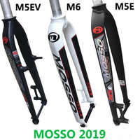 "2019 New model Mosso M5 MD5 M5E M5EV M6 MTB Mountain bike fork for v+disc brake 26"" 27.5"" 29"" Bicycle Front hard Ultralight fork"