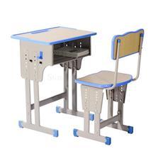 Студенческий стол и стул для начальной и средней школы, учебный класс для коррекции подъема, письменный стол для детей, один стол для учебы