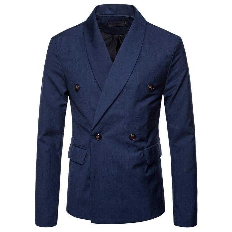 2018 Frühjahr Neue Männer Casual Kleid Koreanische Version Der Selbst-anbau Zweireiher Herren Anzug Jacke NüTzlich FüR äTherisches Medulla