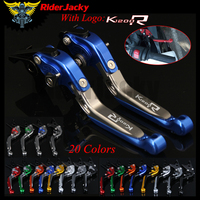 RiderJacky LOGO K1200R Motorcycle CNC Brake Clutch Levers For BMW K1200R SPORT 2006 2008 2007