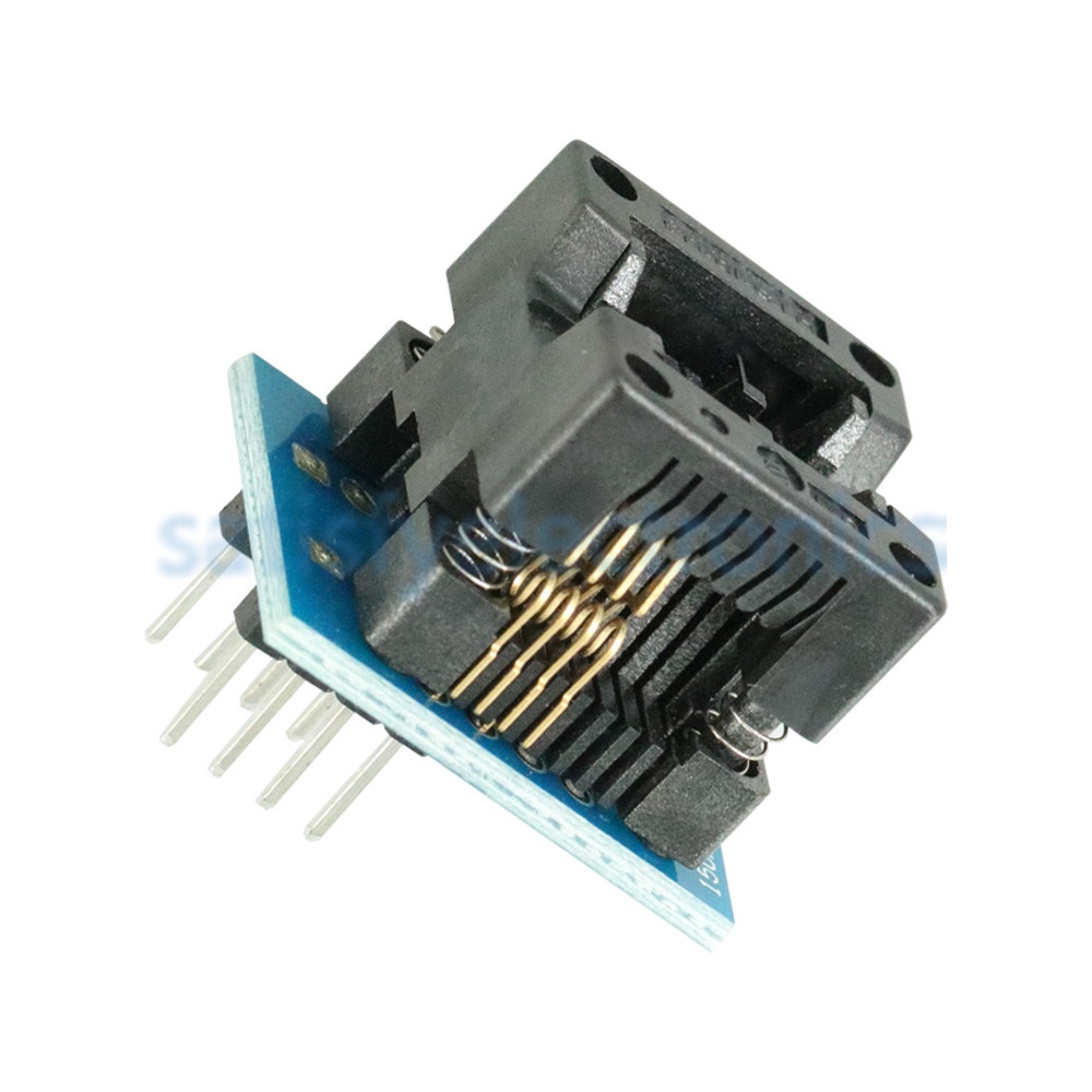 1pcs 150mil SOIC8 SOP8 to DIP8 EZ Programmer Adapter Socket Converter Module New