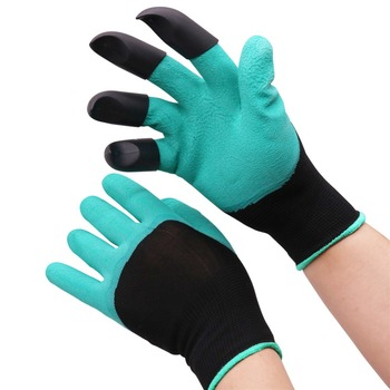 1 pairs Bee Tool Beekeeper Gloves Beekeeping Tools Protective Clothing Accessories Right Hand With Plastic Shovel Not Hurt Hand