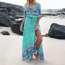 Maxi Bohemian Dresses for Women Plus Size