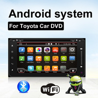 2 Din Android 6 0 Car Dvd Player For Toyota Hilux VIOS Camry Corolla Quad Core