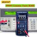 ZOYI ZT-X цифровой мультиметр ac dc Вольтметр true rms Авто Диапазон мультиметр с NCV Удержание данных ЖК-дисплей подсветка