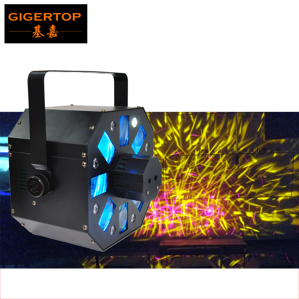 TIPTOP New Led Colony Stage Effect Machine RGBWA Rotating Derby Effect Laser Scanner IEC AC IN/OUT Daisy Chain Power LED Display the jamestown colony