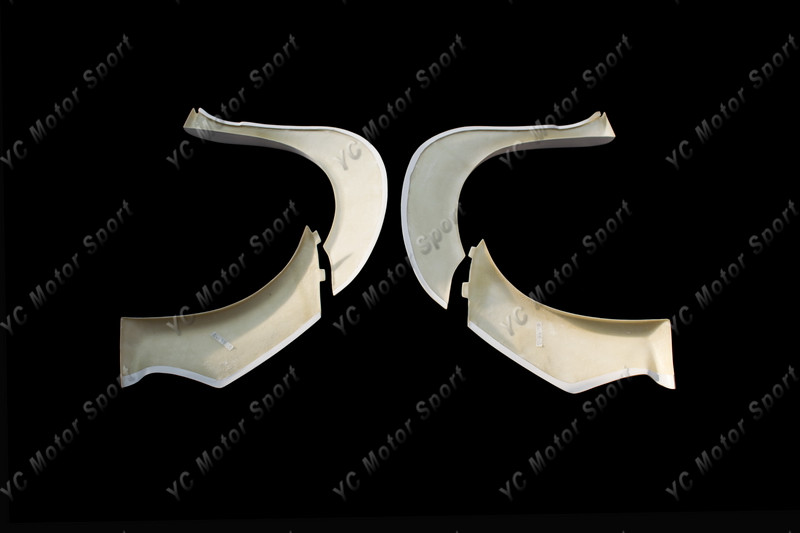 2011-2013 VW Scirocco R Karztrec Style Front Over Fender Flare FRP (20)