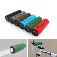 DOITOP Wireless Bluetooth Outdoor Bicycle Portable Waterproof Subwoofer Bass Speakers Power Bank Flashlight 3 In1 With