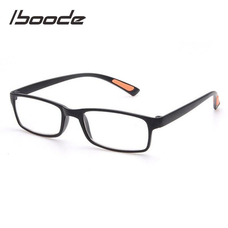 IBOODE Square TR90 Reading Glasses Women Elegant Ultralight Presbyopic Eyeglasses Reader Magnifier Men Hyperopia Optics Eyewear