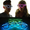 3 Modes Blue El Wire Led Glasses Fashion Neon Luminous Party Lighting Colorful Glowing Classic Toys