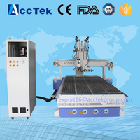 1325 High Speed 3d wood router cnc with vacum for making furniture