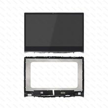 For Lenovo Ideapad Flex 6-14IKB 81EM000BUS 81EM0008US 81EM000PUS 81EM000HUS 81EM000GUS LED LCD Touch Screen Assembly With Bezel все цены