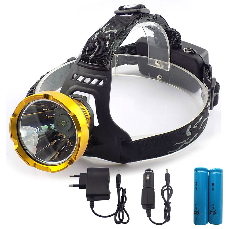 Powerful Led Headlamp Headlight rechargeable Head Flashlight Lantern Lamp torch 18650 battery for Camping Hiking Fishing hot waterproof t6 led headlight headlamp for camping hiking rechargeable head lamp light zoomable 4 mode adjust focus light