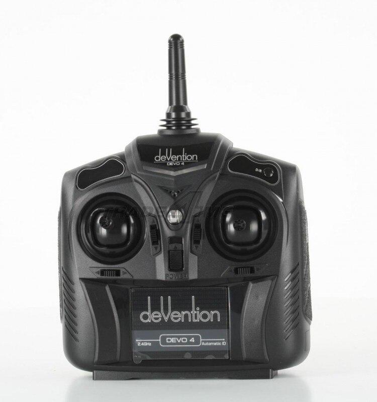 F04737 Walkera Devention Devo 4 2,4 GHZ 4CH RC Sender Radio controller Devo4