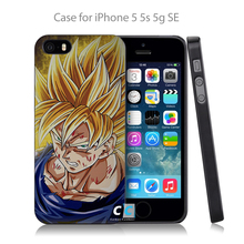 Dragonball Z Hard Black Case Cover For iPhone