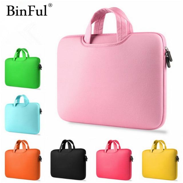 "BinFul 11 ""12'' 13 ""14"" 15 ""15,6 сумка для ноутбука Sleeve Чехол для Mac Dell samsung Asus Toshiba поверхности ультрабук Тетрадь"
