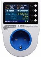 PR10 C EU16A Home Power Metering Socket Home Energy Meter Power Recorder Electricity Meters 16 Currency