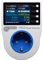 PR10 C EU16A (German plug) home power metering socket / home energy meter /power recorder / electricity meters/16 currency units