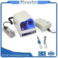 NEW Electric SAEYANG MARATHON Micromotor Polishing unit N8+Slow Handpieces Straight Dental Lab Labor Marathon DHL