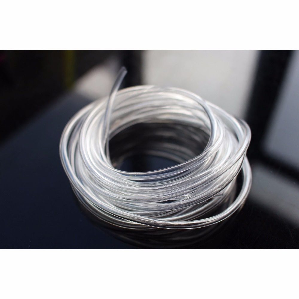 Tigofly 6m 2 Sizes Plastic Tube Kit PE PVC Tube Fly Tubing Clear Fly Tying Tubes Materials