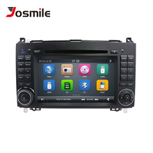 2 Din Car DVD Player For Mercedes Sprinter Vito W639 Viano B Class W169 W245 W209 W906 Benz B200 Radio Multimedia GPS Navigation цена