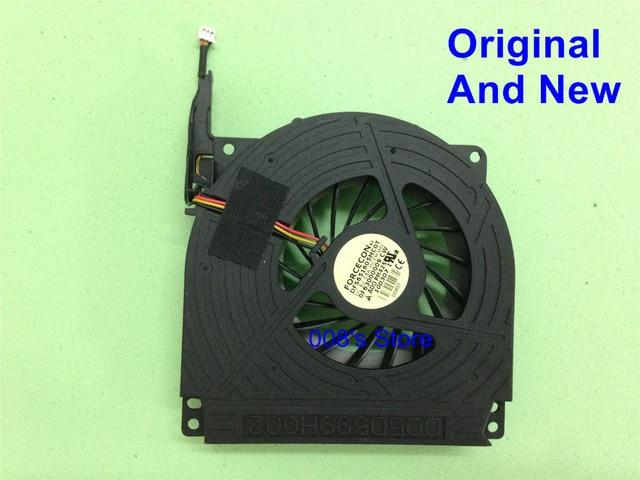 100% original new cpu laptop cooler fan para dell inspiron 1720 1721 vostro 1700 forcecon dfs651605mc0t f630 5 v 0.5a dq5d599h002
