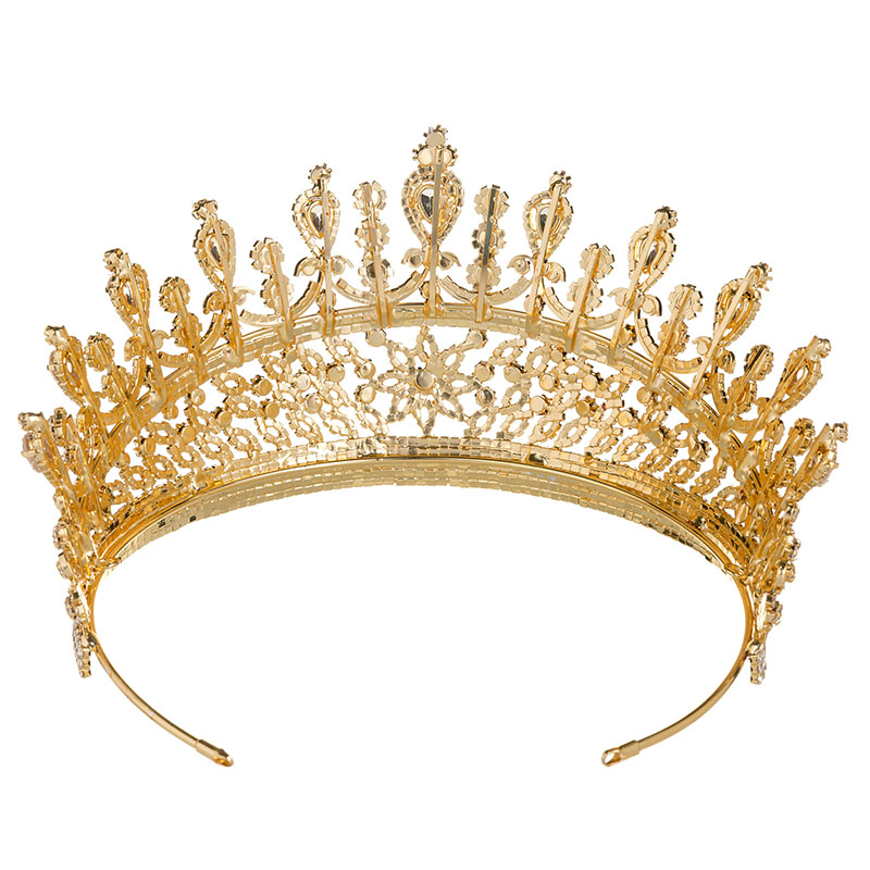Hadiyana 2018 милые девушки капли Hairband CZ корона принцессы ободок тиара на день рождения короны для женщин аксессуары для волос HG6007 - 4