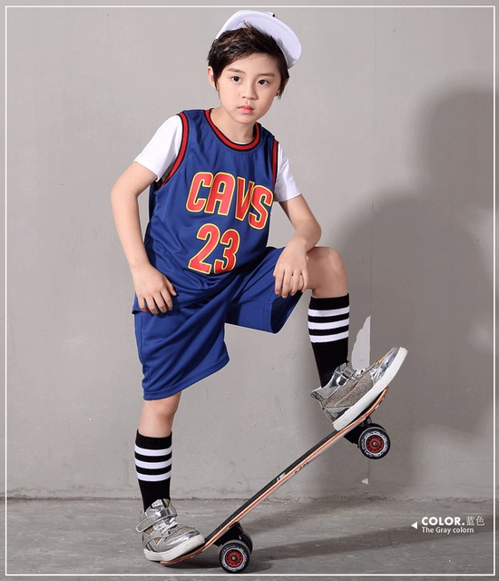 8018cab6e Free Shipping New Baby Sport clothes Boys Girls bodysuit Kid Basketball Jersey  Summer Short Sleeve 23 Letter Children Suits