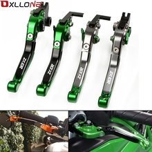 цена на For KAWASAKI ZX10R 2006-2015 Motorcycle Accessories Brake Clutch Levers Adjustable Folding Extendable Lever ZX 10R ZX-10R