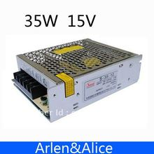 35W 15V 2.4A Single Output Switching power supply for LED Strip light