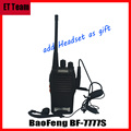 Hot Walkie Talkie BF777s 5W 16CH UHF BF 777S BaoFeng BF-777S Portable Radio Comunicador Transmitter Transceiver with headset