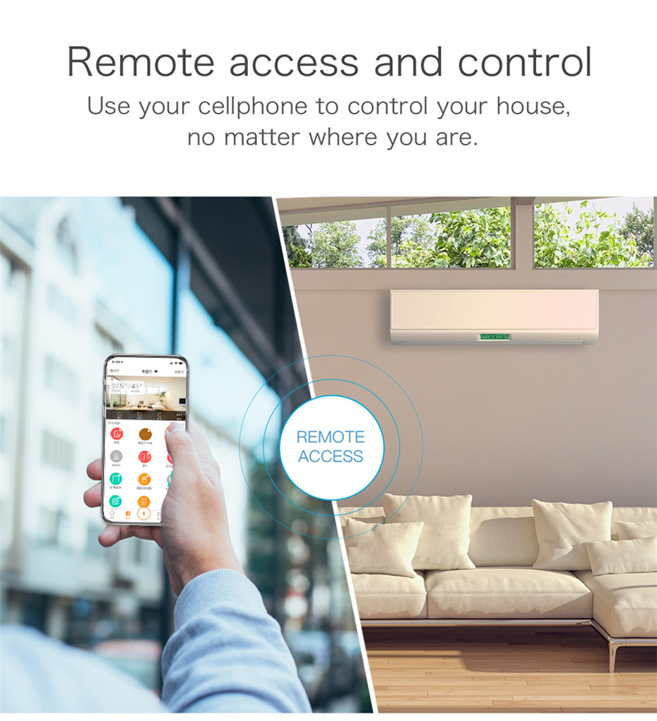10---Geeklink Smart Home Universal Intelligent Remote Controller WIFI+IR+4G For iOS Android