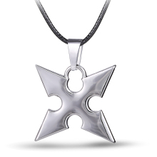 MS JEWELS Game Kingdom Hearts Roxas dart Pendant Metal Necklace Cosplay Jewelry Gift Accessories