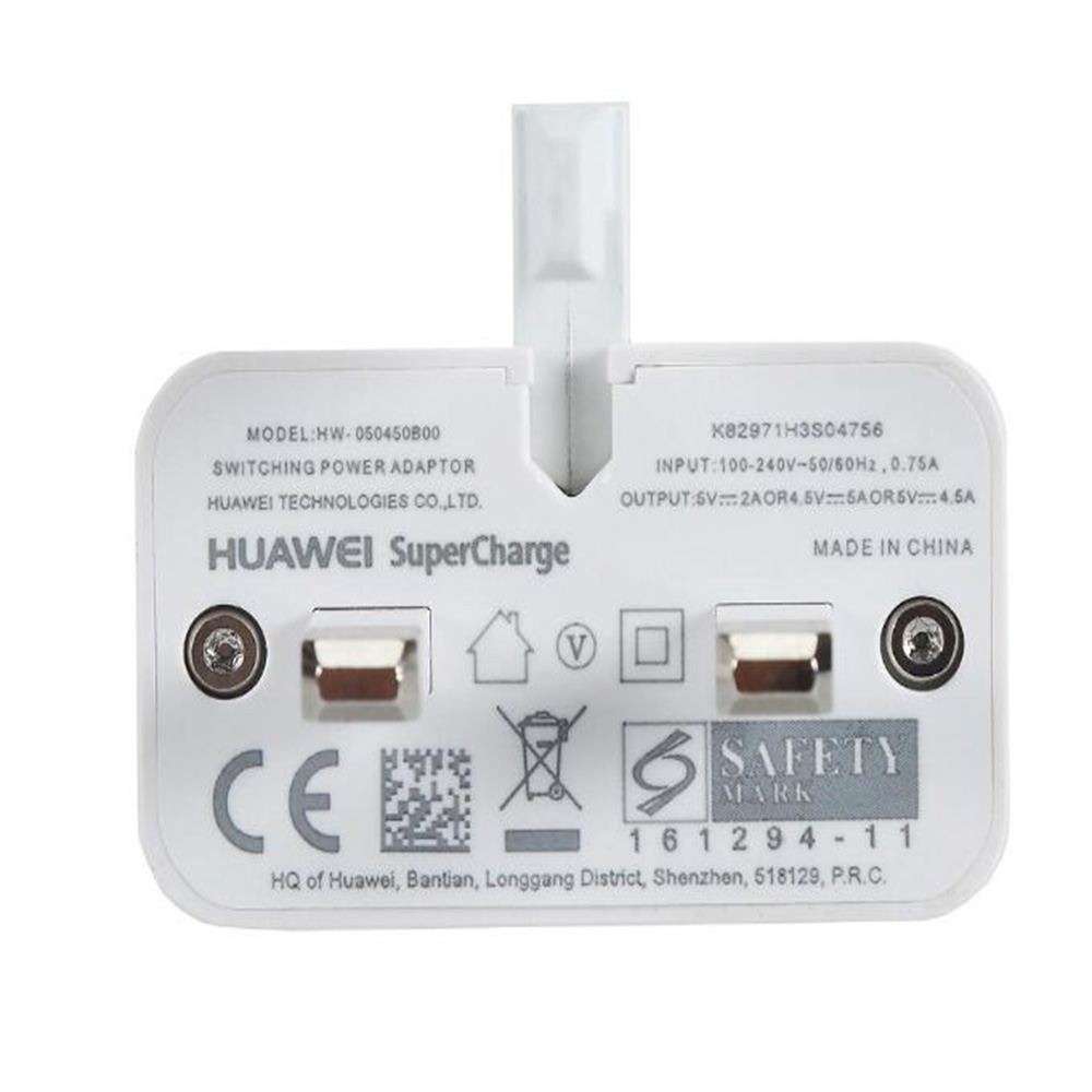 Image 5 - Original HUAWEI P20 Pro Fast Charger Mate 9 10 Pro Supercharge Quick Travel Wall Adapter 4.5V5A/5V4.5A 1M Type C 3.0 USB Cable-in Mobile Phone Chargers from Cellphones & Telecommunications