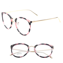 New Oculos De Grau Ultra Light TR90 Eyeglasses Frames For Women Retro Myopia Glasses Frame Classic Women's Optical Frames 5010
