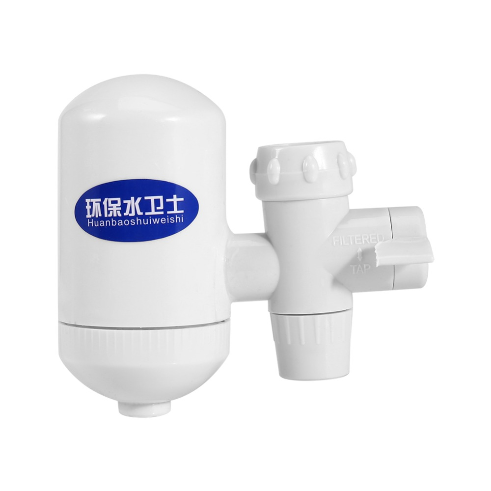 White High Technology Tap Faucet Water Filter Purifier with Ceramic ...