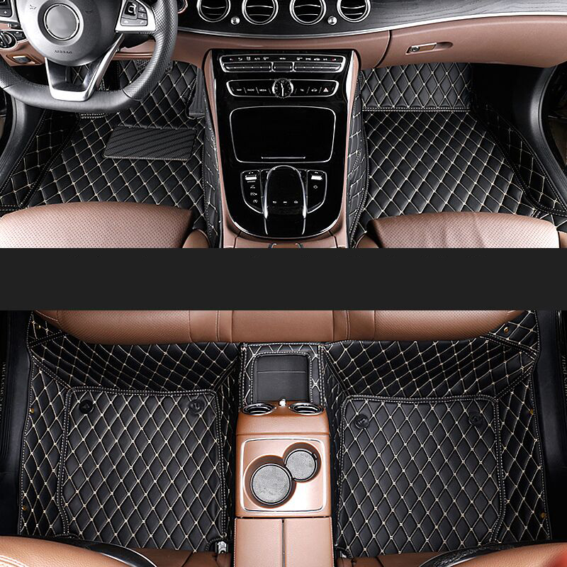 car styling fiber leather car floor interior mat for mercedes benz E-class w211 w212 w213 c207 2002-2018 E200 E300 E350 dhl shipping 23pc x error free led interior light kit for mercedes for mercedes benz e class w212 e350 e400 e550 e63amg 09 15