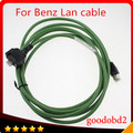 For benz MB STAR SD connect Compact 4 C4 car diagnostic tool Lan cable net cable car wifi connect  lan cable