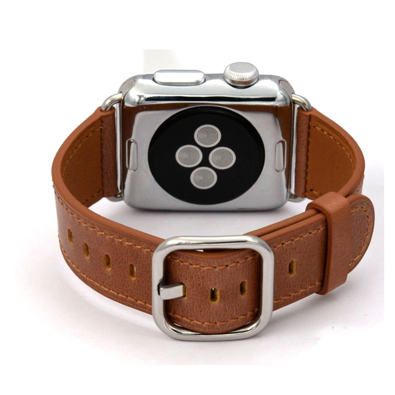 Iwatch Band 38mm Genuine Leather Classic Buckle Strap for Apple Watch Band Watch Strap for Apple Watch Bands 38mm And 42mm цена и фото